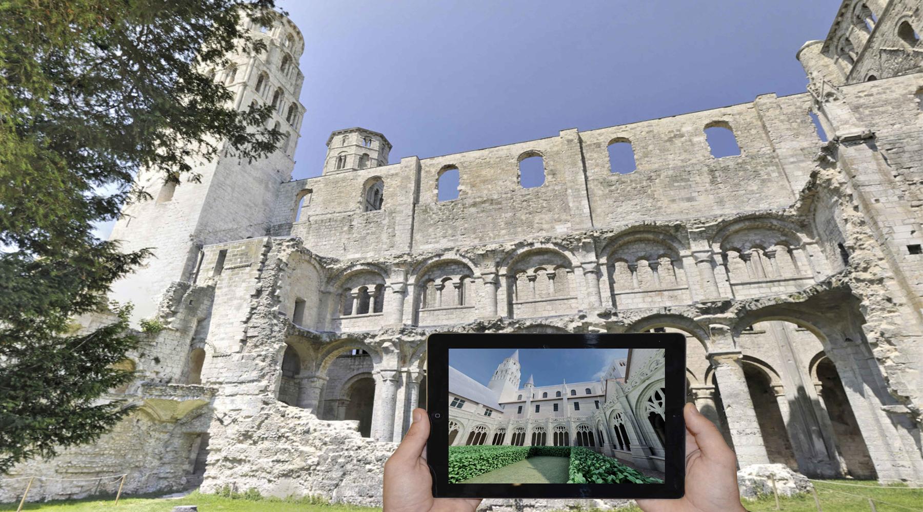 Augmented reality applications - Art Graphique et Patrimoine