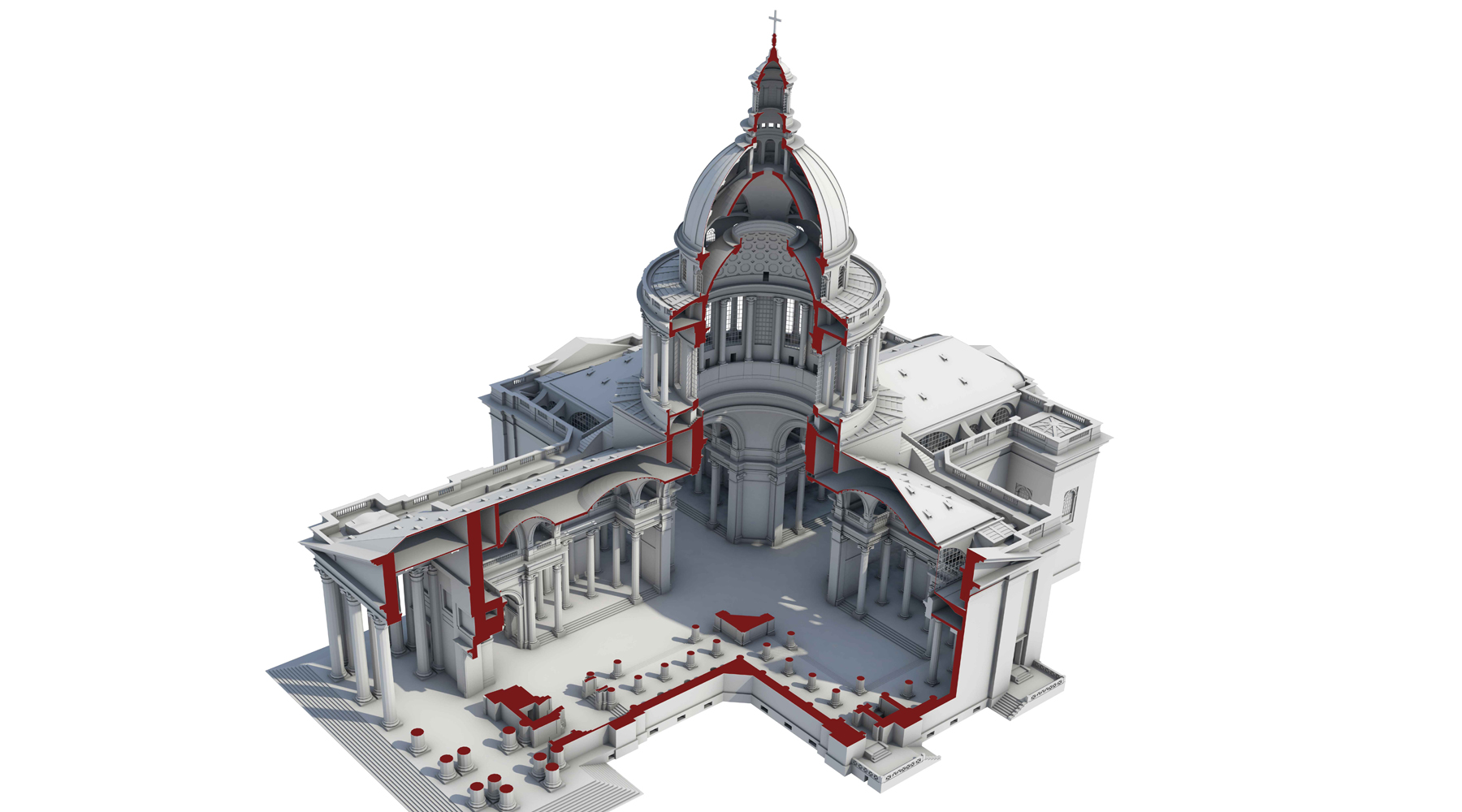 06 Restitution 3D du Panthéon - Paris