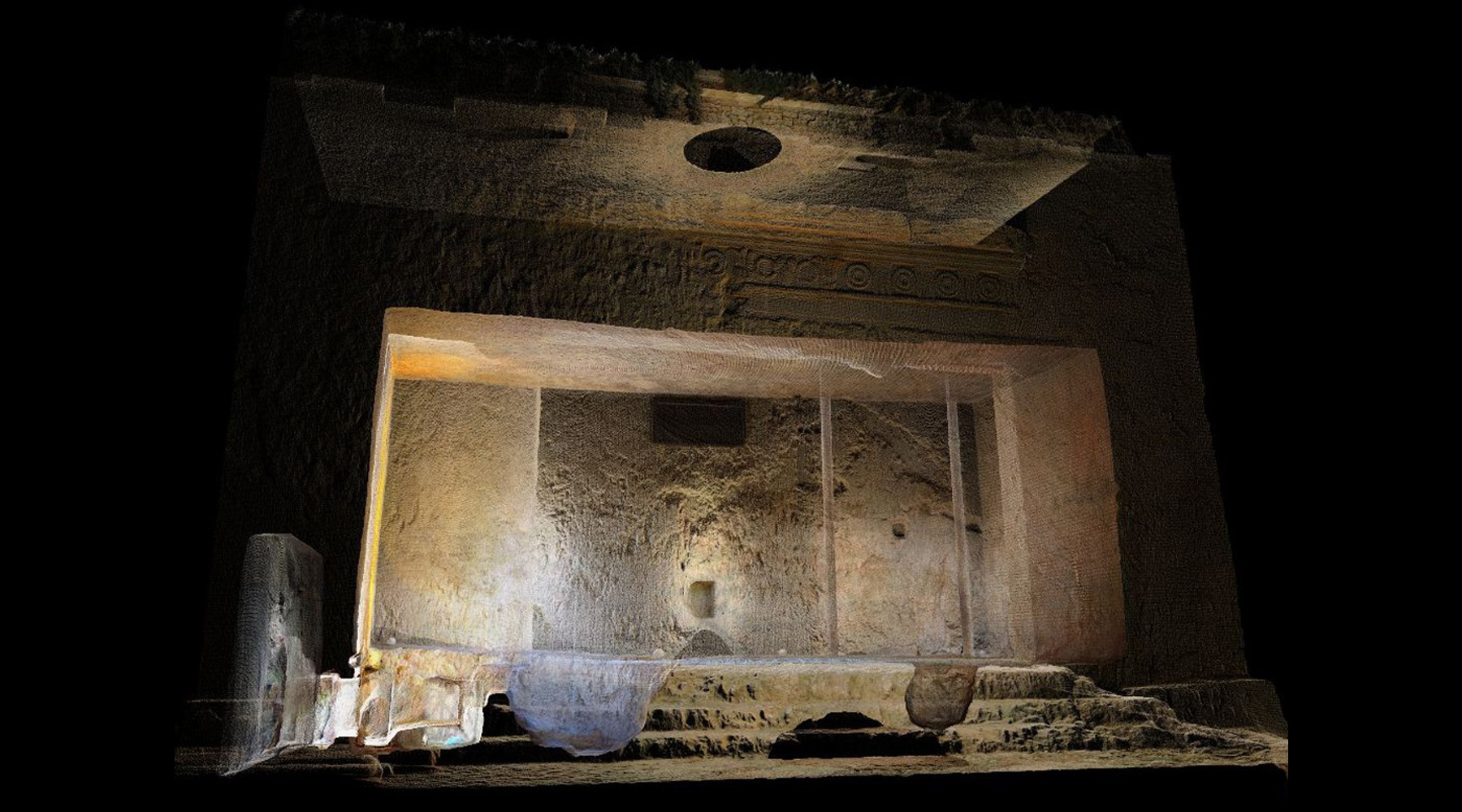 03 Tomb of the Kings, Jérusalem - Point cloud