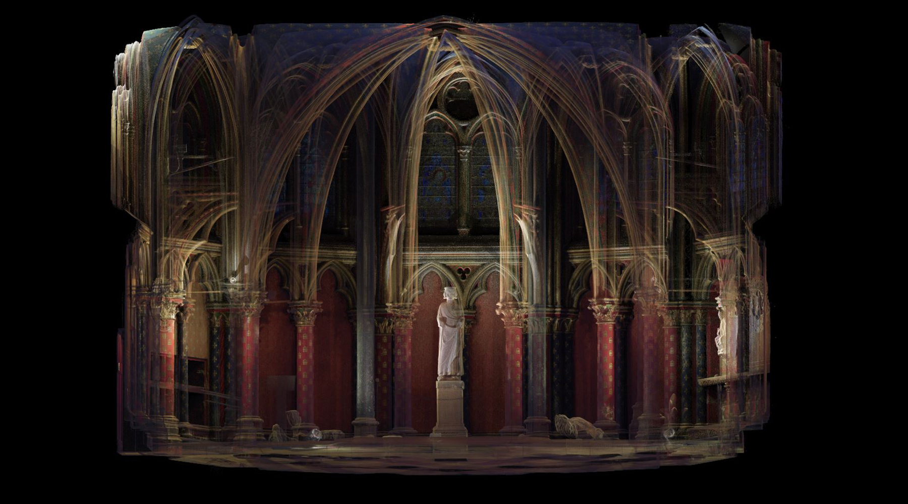 05 Sainte-Chapelle, Paris - Point cloud