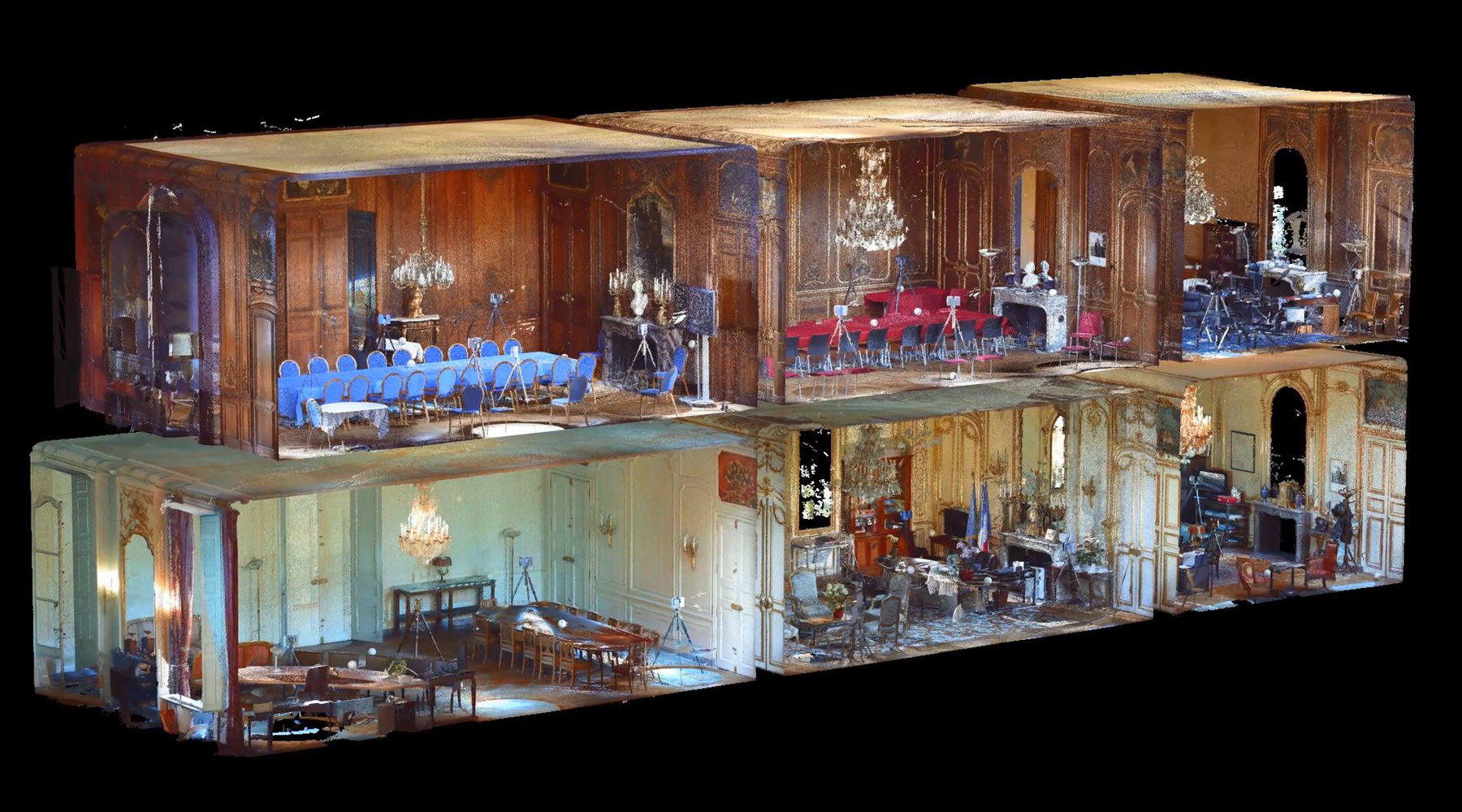06 Mansion, Paris - Point cloud