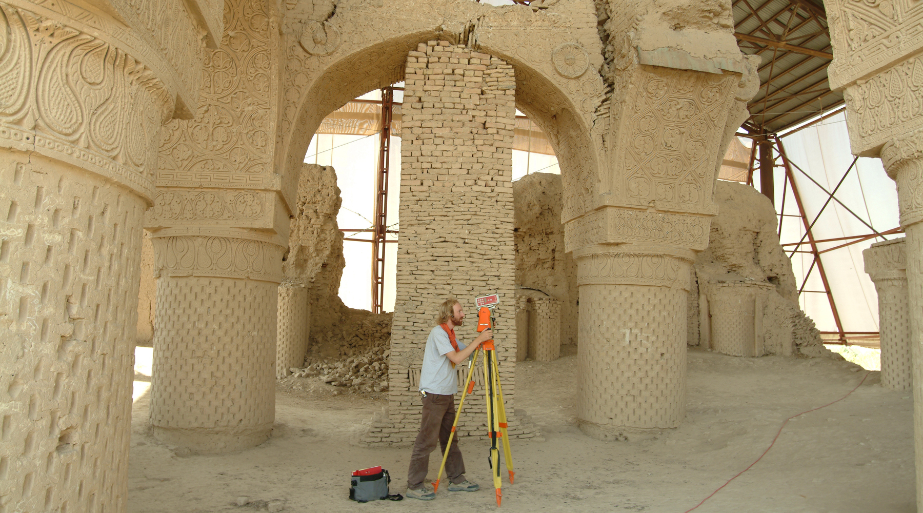 09 Mosque of Haji Piada, Afghanistan - Topographical survey