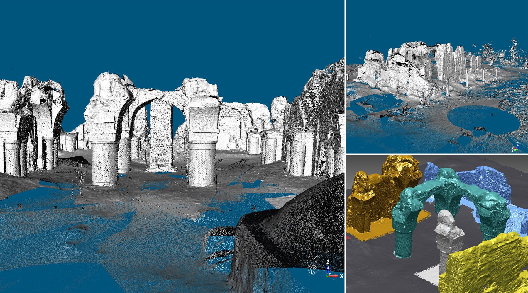 11 Mosque of Haji Piada, Afghanistan - Point cloud and 3D mesh