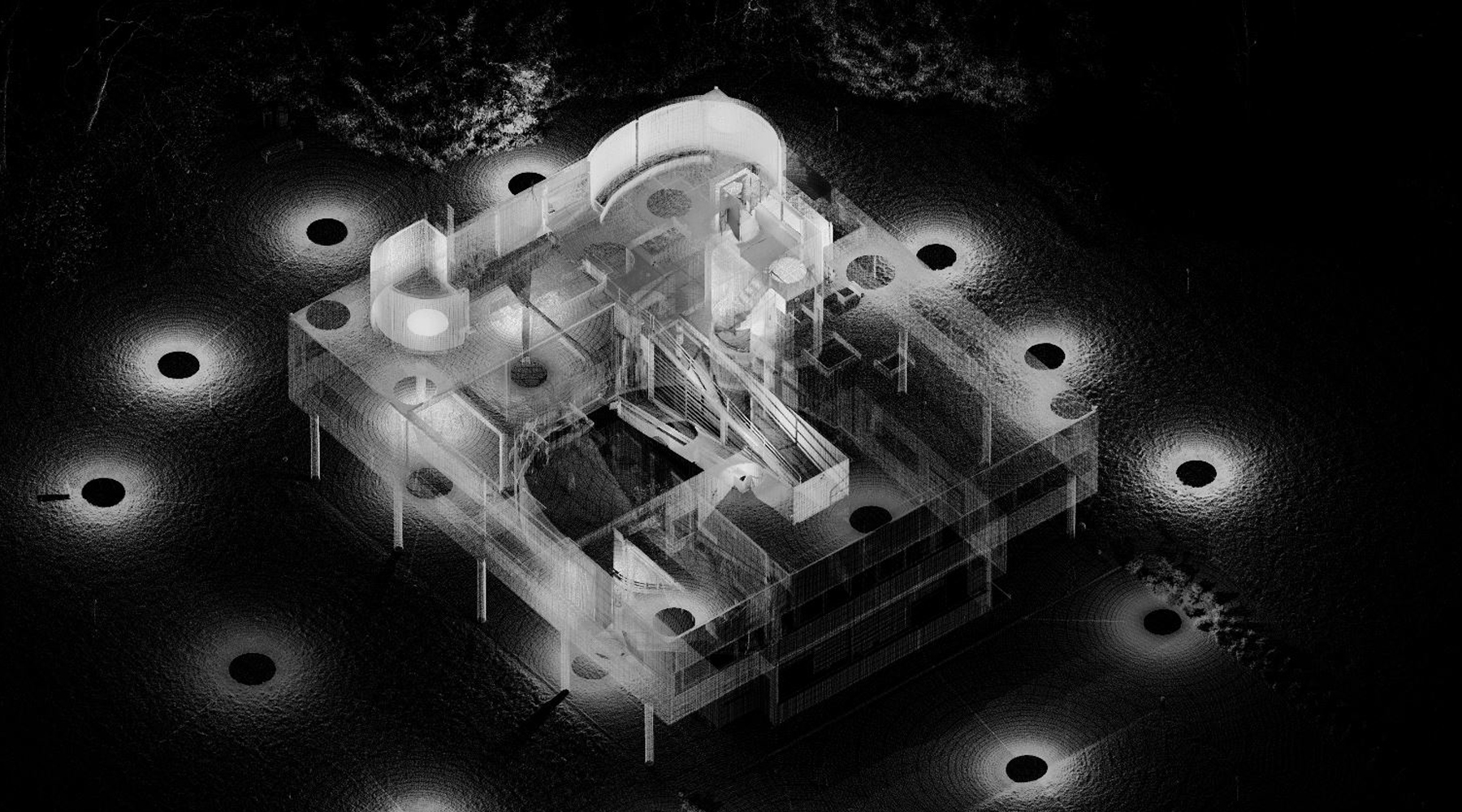 12 Villa Savoye, Poissy - Point cloud