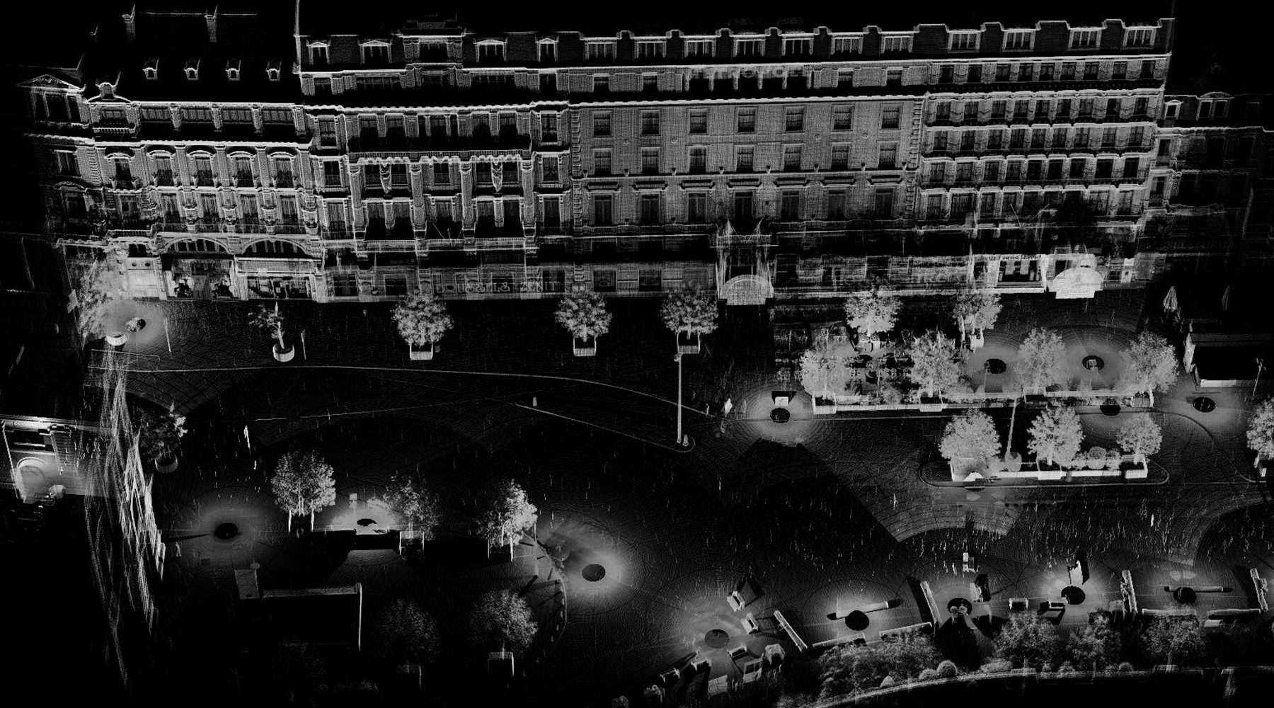 08 Hotel Metropole, Brussels - Point cloud