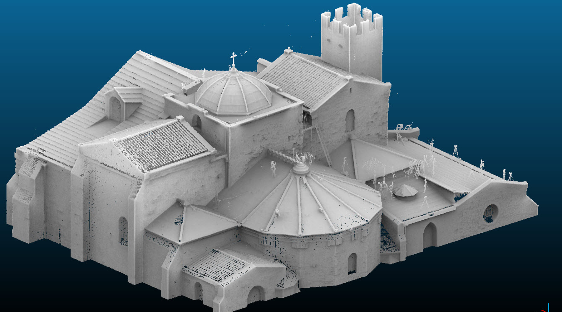 11 Vieille Major Cathedral, Marseille - Point cloud