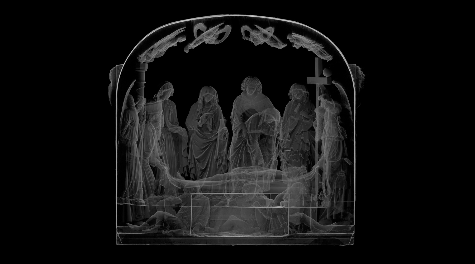 16 Entombment, Saint-Martin church, Pont-à-Mousson - Ortho-image