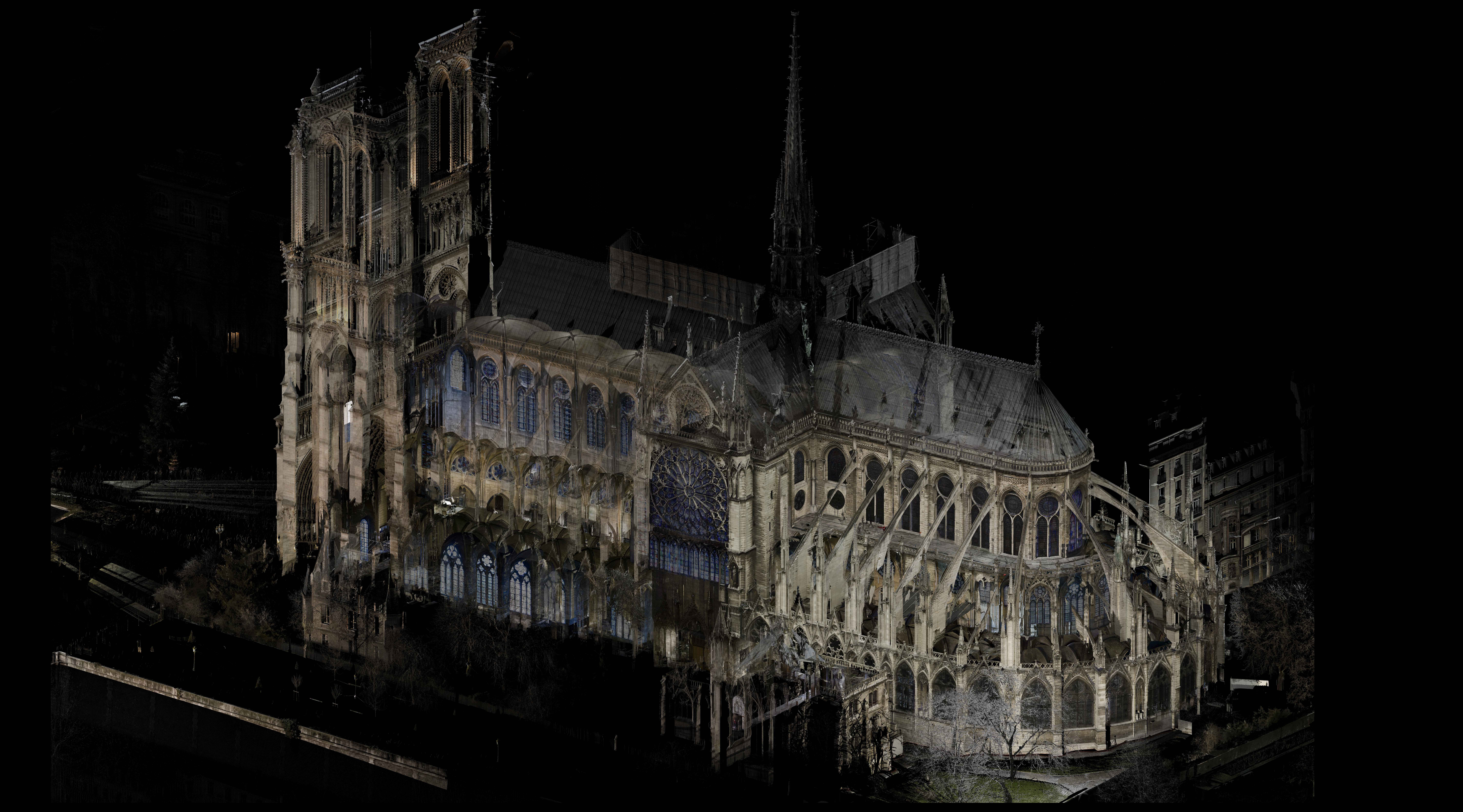 04 Notre Dame, Paris - Point cloud