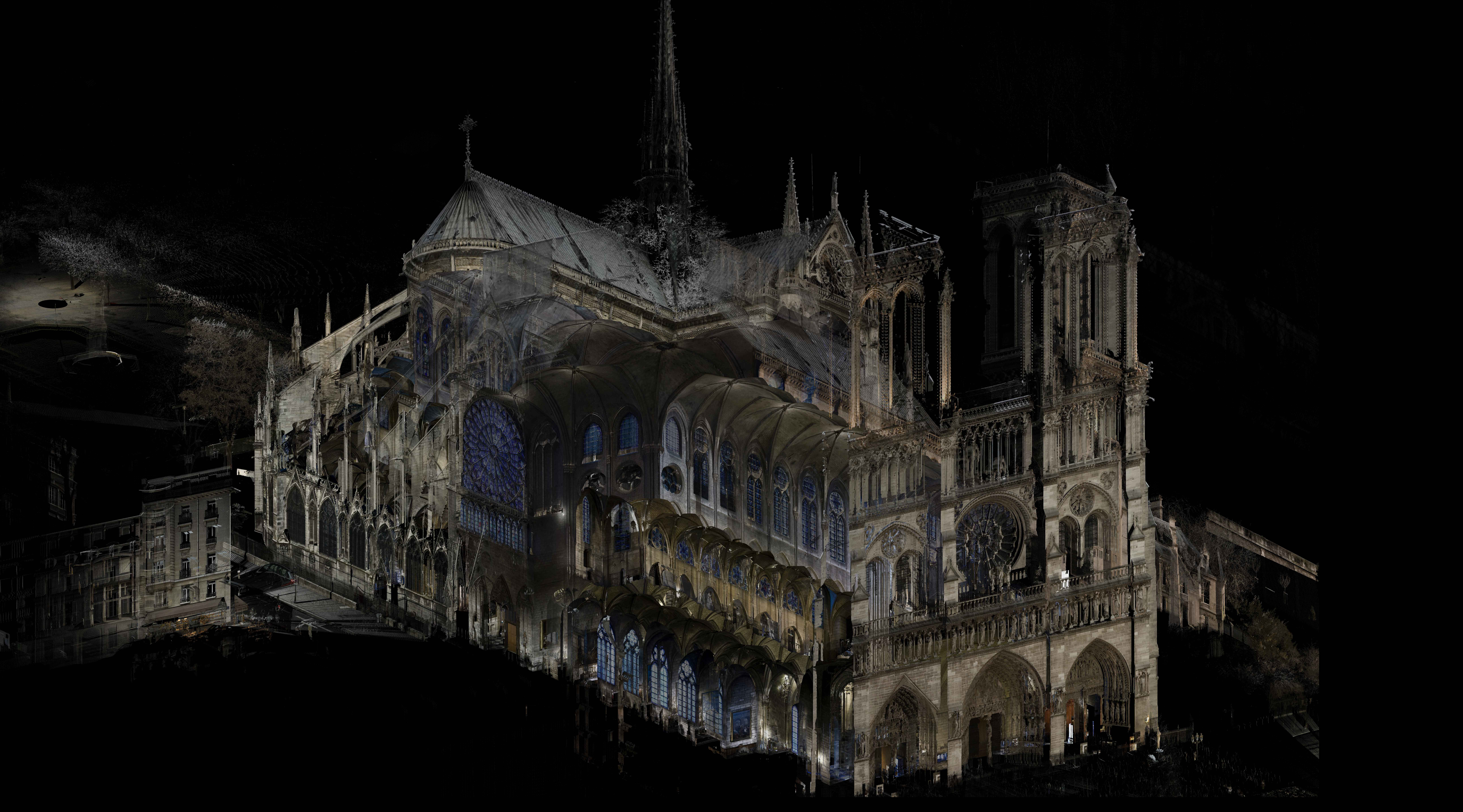 03 Notre Dame, Paris - Point cloud
